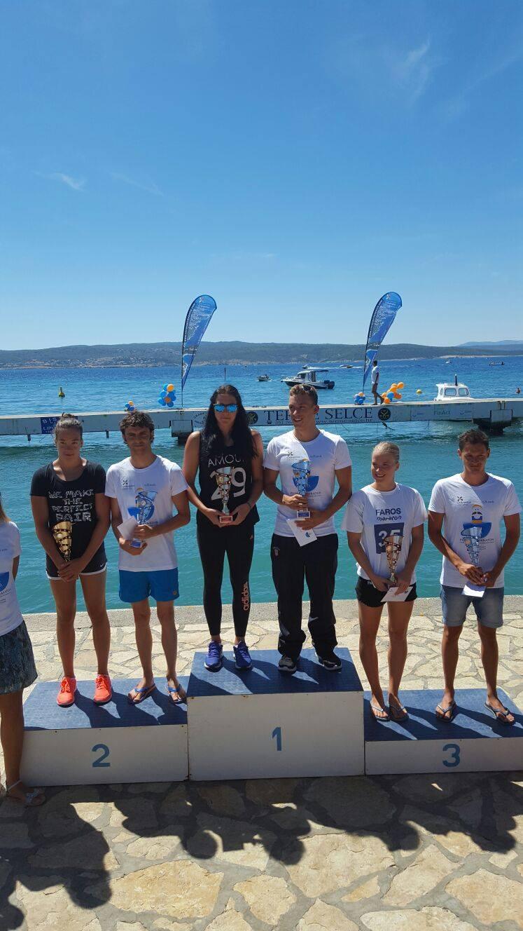 106. Plivački maraton Šilo – Crikvenica – Cro Cup i 20. Plivački maraton Rogoznica, 15.8.2016.